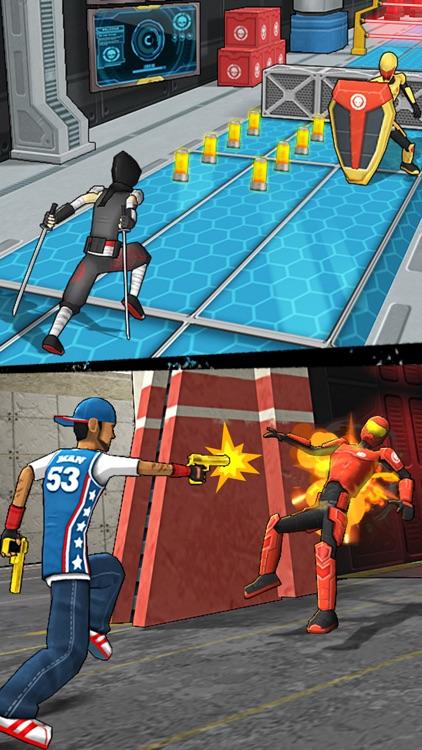 Action-Man Super Hero Rush Run