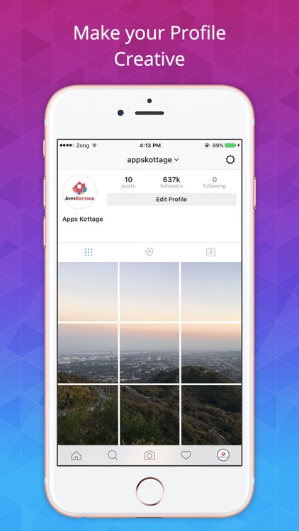 LayOut For Instagram - Easily Make Insta Profile Beautiful screenshot-3