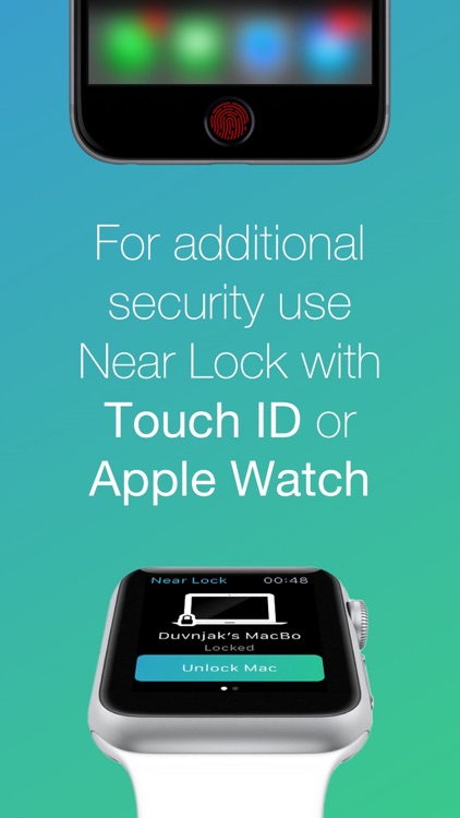 Near Lock - Lock & Unlock your Mac automatically