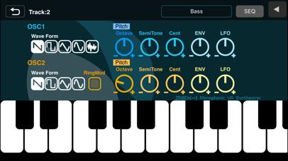 Screenshot #2 pour XENON Synthesizer