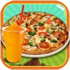 Slush and Pizza Maker – Free Crazy Italian Pizzeria Chef Restaurant & Kitchen cooking Games for Girls icon