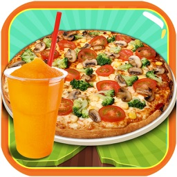 Slush and Pizza Maker – Free Crazy Italian Pizzeria Chef Restaurant & Kitchen cooking Games for Girls