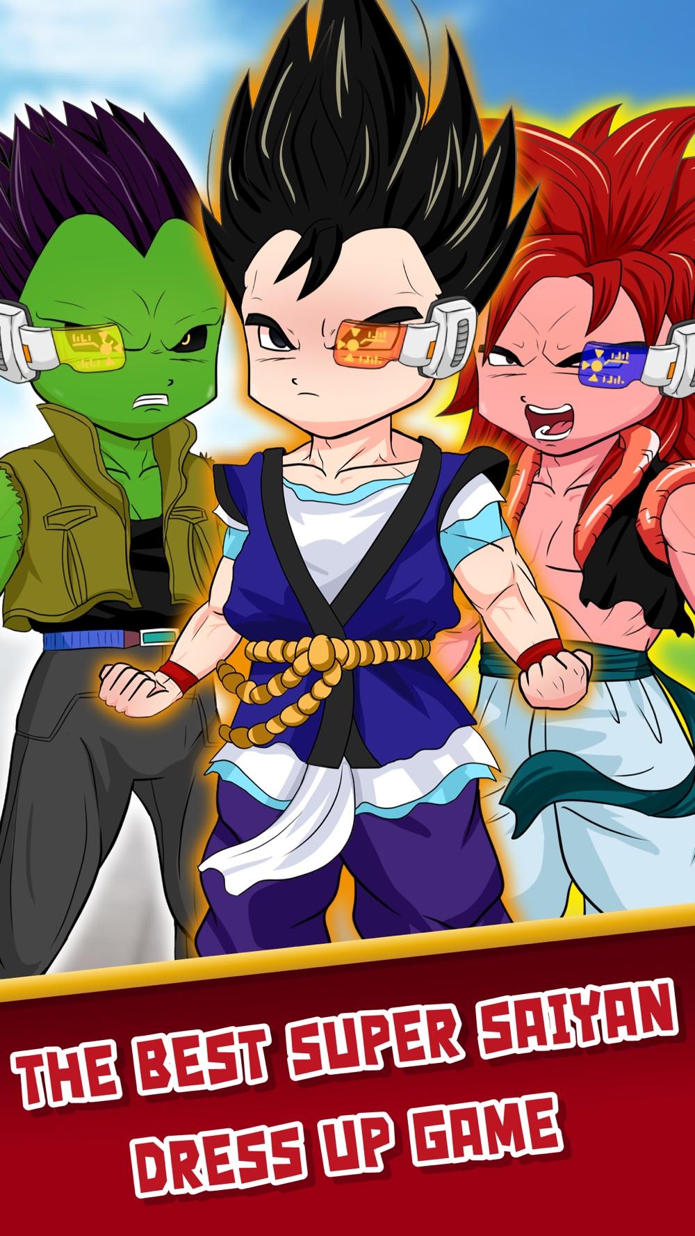 DBZ Goku Royale Dress Up  – Create Your Own Clash Super Saiyan Dragon Ball Z Edition