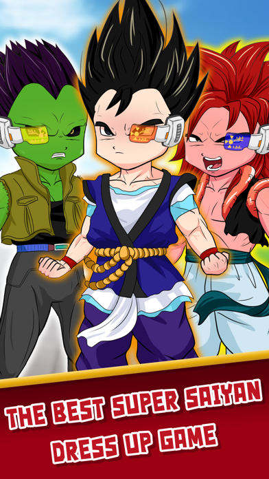 DBZ Goku Royale Dress Up  - Create Your Own Clash Super Saiyan Dragon Ball Z Edition screenshot one