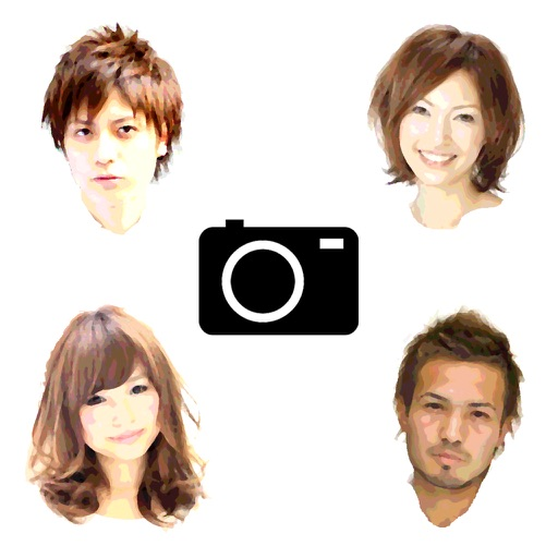 Sim Hairstyle Camera icon