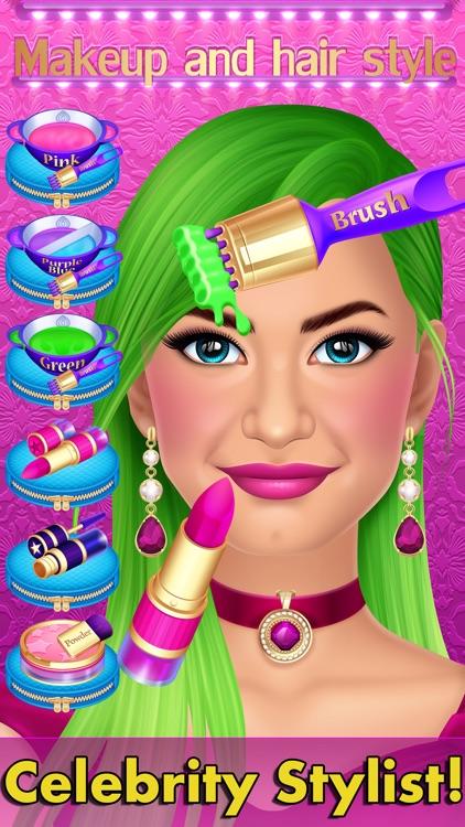 Celebrity Fashion Makeover Salon - Spa Kids Games
