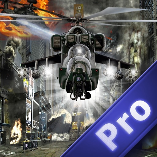 City Flight Helicopter Pro - Combat War Strike Propeller Wings