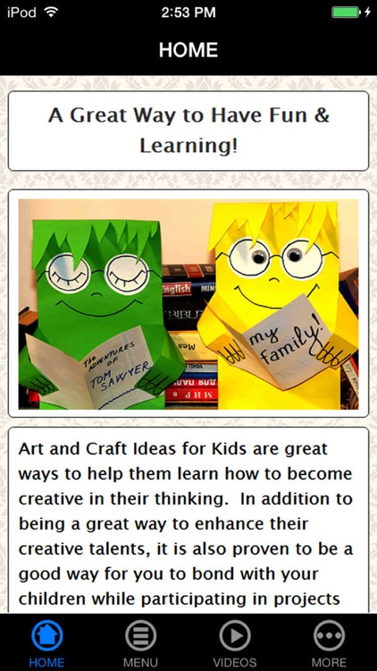 Arts & Crafts Ideas Guide for Kids, Parents & Teachers - Avoid Video Games & Be Creative!