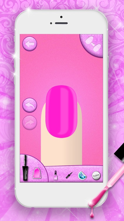 Fashion Nail Art Designs Game screenshot-3