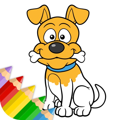 Doggie - Coloring Book for Little Boys, Little Girls and Kids - Free Game