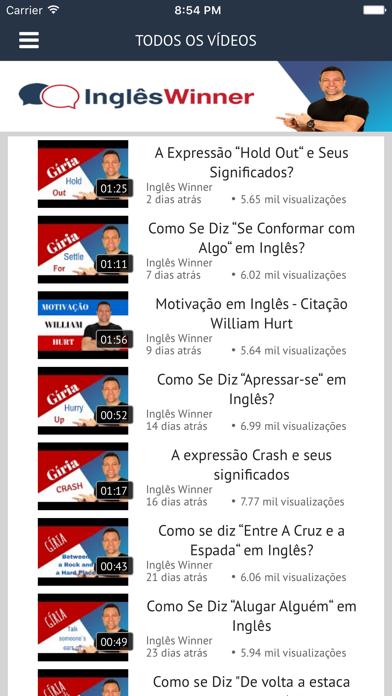 Curso Inglês Winner screenshot one