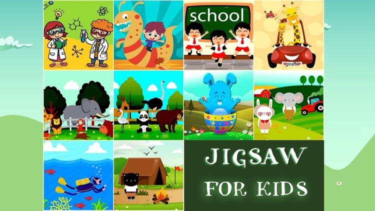 Jigsaw Puzzle Fun Games For Kids screenshot-4