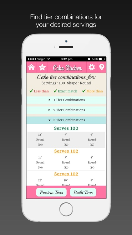 Cake Stacker app image