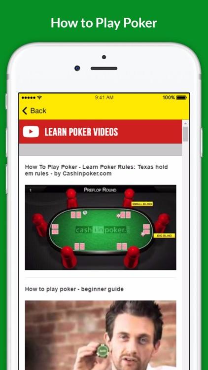 Play Poker - Earn More Money