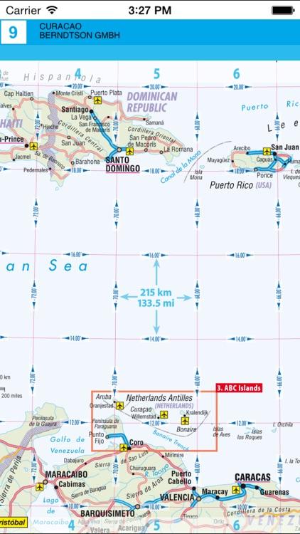 Curacao. Road map. screenshot-3