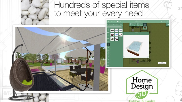 Home Design 3D Outdoor & Garden screenshot-3