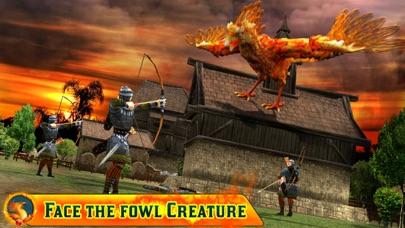 Angry Phoenix Revenge 3D screenshot two