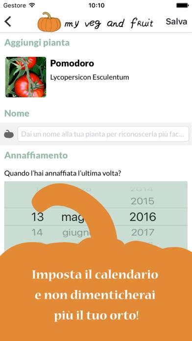myVeg&Fruit   l'App per gestire il tuo orto al meglio
