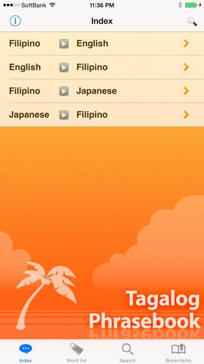 Tagalog Phrasebook & Dict