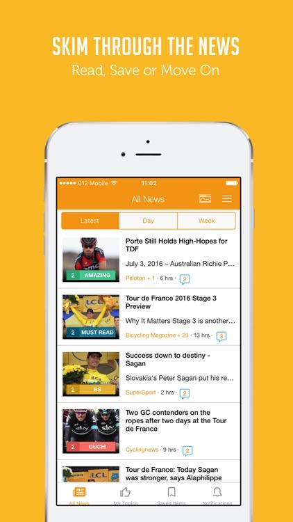 Sportfusion - Tour de France 2016 Unofficial News Edition screenshot-3