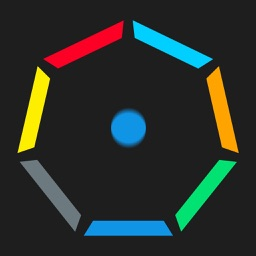 Color Spinny Geometry - Rotate to Match Ball Coloring