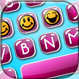 Custom Emoji Keyboard.s for iPhone - Customize my Color Key.board Skins with Fancy Font Changer