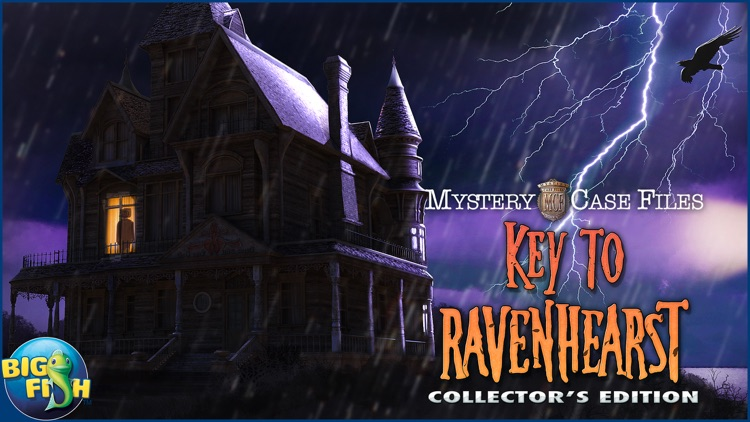 Mystery Case Files: Key To Ravenhearst - A Mystery Hidden Object Game screenshot-4