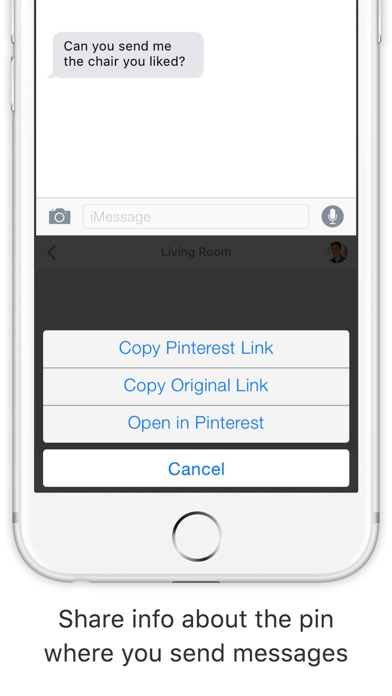 Pinky - The Pinterest Keyboard screenshot three
