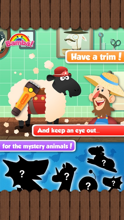 Bamba Farm (Free) - Learn about numbers and animals screenshot-4