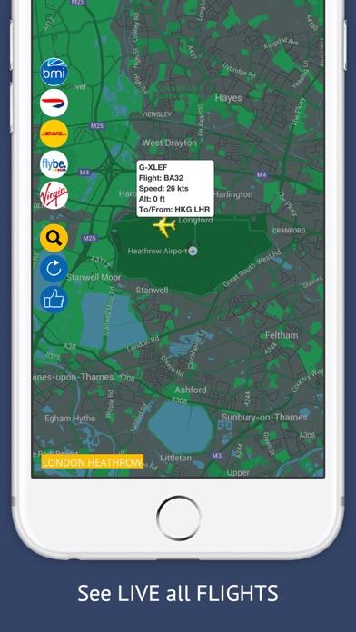 UK Tracker Free : Live flight status for Englandのスクリーンショット1