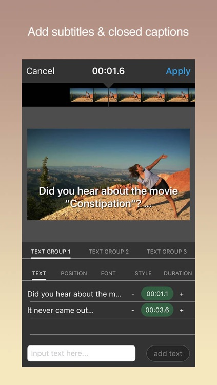 Video Editor for Instagram - No Crop, Rotate, Text Videos to Make Square Movie