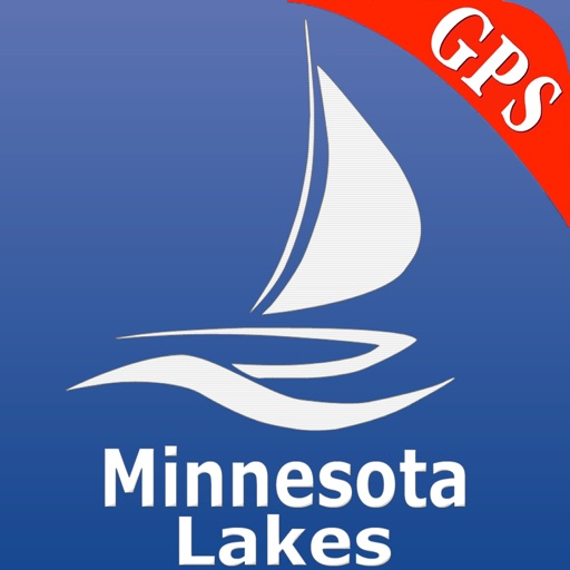 Minnesota Lakes GPS Nautical charts