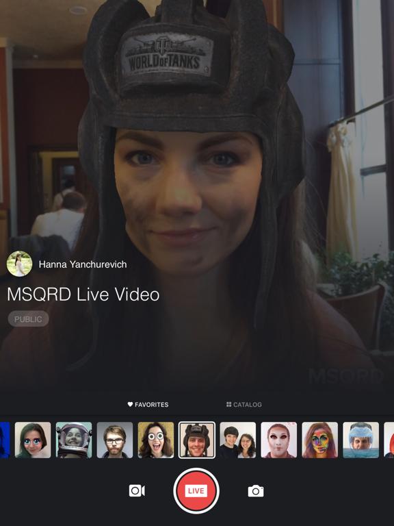 MSQRD — 自撮りビデオ用のライブフィルターとフェイススワップのおすすめ画像2