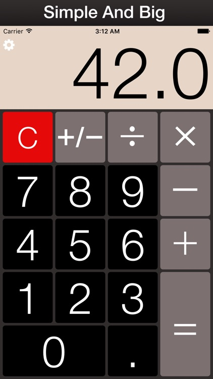 BIG CALCULATOR PLUS