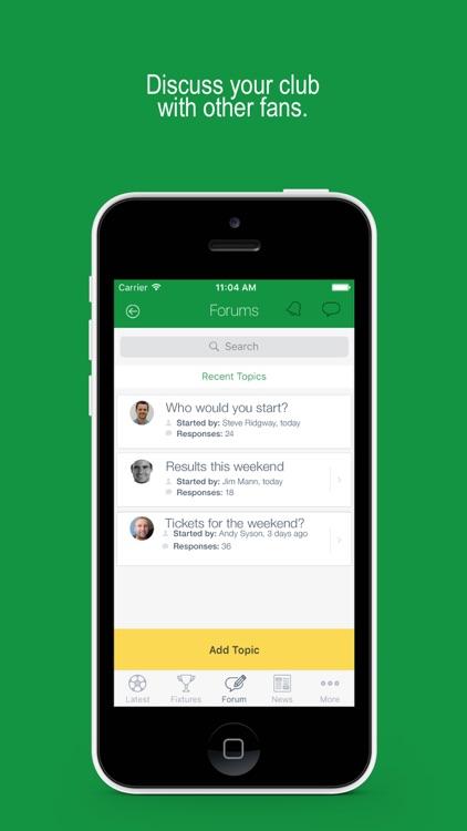 Fan App for Ireland Football