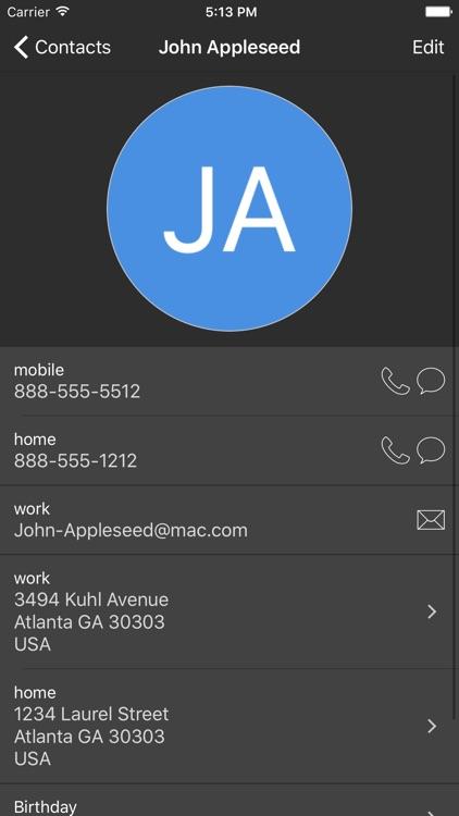 Contact Fixer screenshot-4