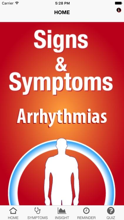 Signs & Symptoms Arrhythmias