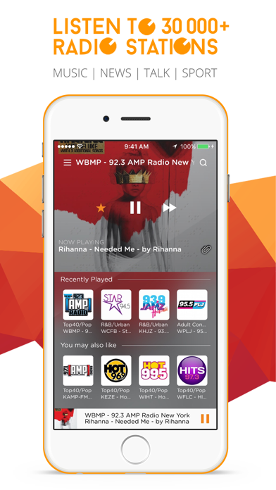 Top 10 Apps like RadiON2 HD - The world's best music radio stations