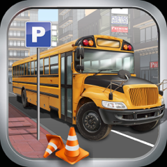 High School Bus Parking & Driving Test - 2K16 Extreme simulator 3d Edition