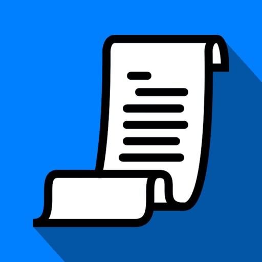 myReceipts - Personal Receipt Organizer application logo