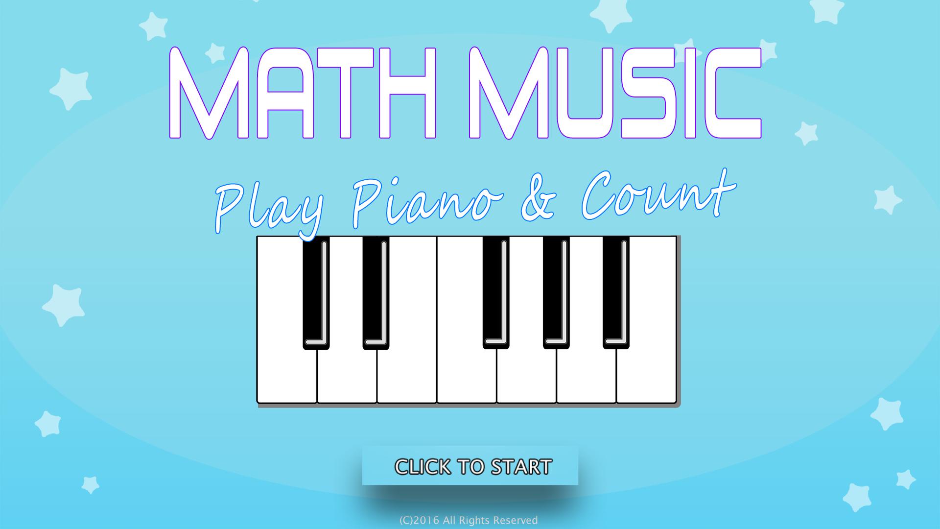Math Music – Play Piano & Count (on TV) screenshot 1