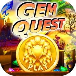Super Gem Quest - Gem & Diamond Match 3 Crush Mania (Make Big Blast of 2016)