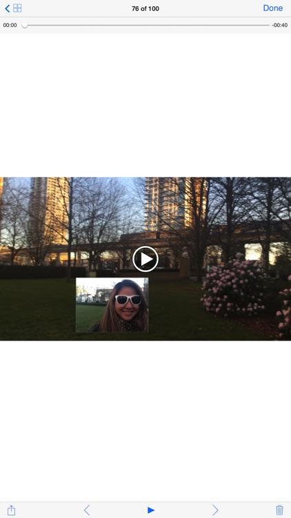 Photonu - live photo dual cam: front, back, peer screenshot-4