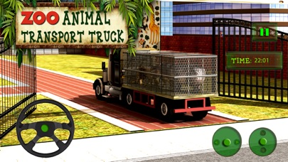 Zoo Animal Transport Truck Driving and Parking Mania screenshot three