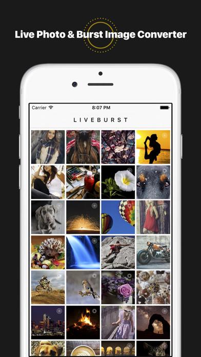 LiveBurst - Animate Burst Photos, Live to GIF Converterのおすすめ画像1