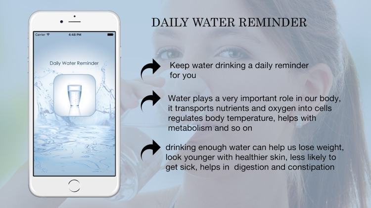 WaterAlert - Daily Water Alert