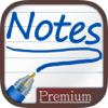 Notizen um zu schreiben - Premium.