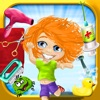 Cooties Doctor - All In One : Dress up , Hair Salon , Bath , Dentist , Nail Trim , Spa , Paint , Puzzles , Memory Match and more... - iPhoneアプリ
