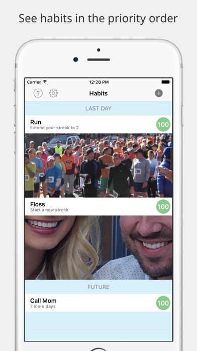 Habits screenshot one