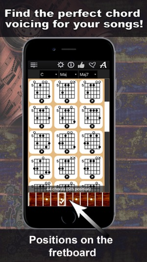 Guitar Chords Compass - learn the chord charts & play them on the ...